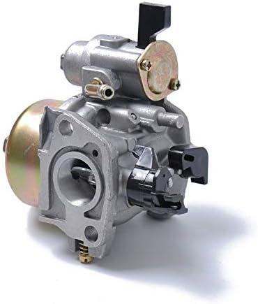CamKpell para Honda Carburador GX160 GX200 5.5 HP 168F 170F Bomba de Agua el/éctrica con Taza de precipitaci/ón Plata