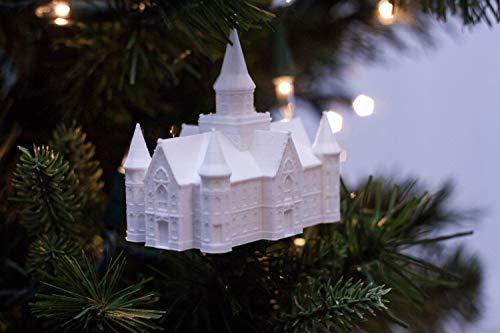 Provo City Center, UT Temple Christmas Ornament