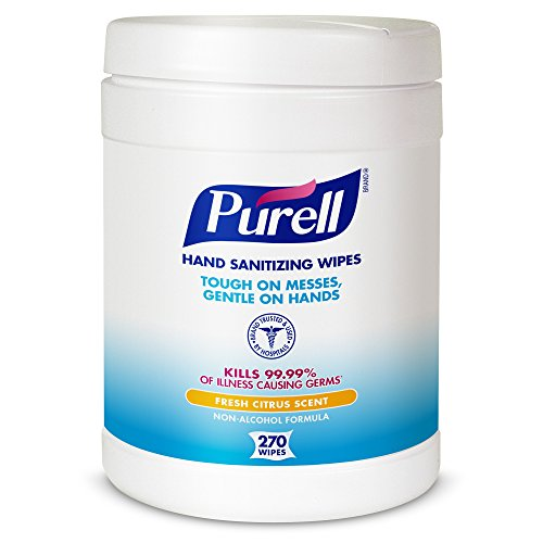 PURELL 9113 06 Sanitizing Wipes Canister