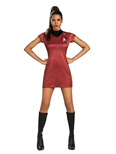 Rubie's Star Trek Into Darkness Uhura Dress, Red, Small(6-10) ()
