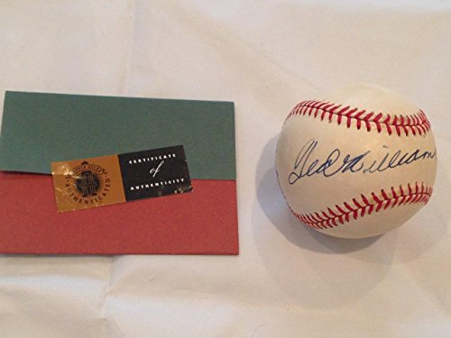 Williams Autograph Baseball - Autographed Ted Williams Baseball - Hof Holo Coa 1f - Upper Deck Certified - Autographed Baseballs
