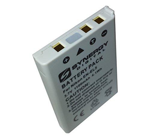 Li-ion Batterie pour NIKON COOLPIX P500 1100mAh 3.7V
