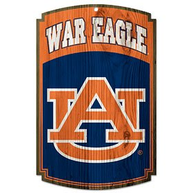 Wincraft NCAA Auburn University 72786091 Wood Sign, 11