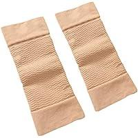 QiKun-Home 1 paar 420D Compressie Afslanken Armen Mouwen Workout Toning Burn Cellulitis Shaper Vetverbranding Mouwen…