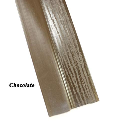 (Single Car Garage Door Stop Sides and Top 2 Inch Weather Seal Any Size (Chocolate))