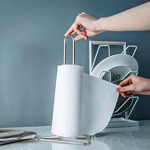 - Finedayqi  Diversified Paper Towel Holder Toilet Roll Paper Towel Rack Stand Holder Dining