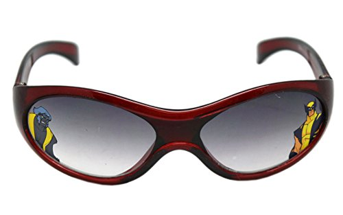 Marvel's Wolverine and the X-Men Dark Red Kids Sunglasses -