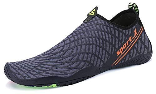 8f46810cee62 PENGCHENG Water Sports Shoes Men Women Quick-Dry Lightweight Barefoot Skin  Aqua Socks for Summer
