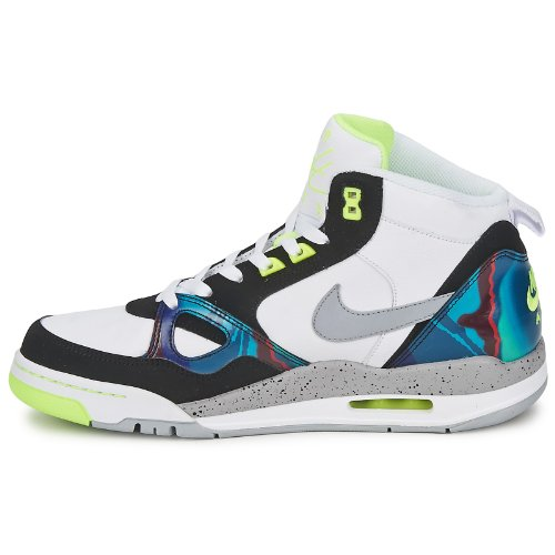 Mid Sneaker Black Flight NIKE White Grey Air Wolf Volt Herren 13 PXxwqtfwv