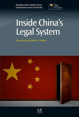 Legal System Chinese (Inside China's Legal System (Chandos Asian Studies Series))