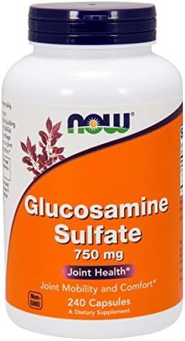 NOW® Glucosamine Sulfate, 750 mg, 240 Capsules