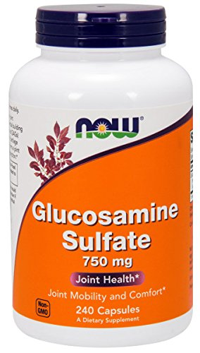 NOW® Glucosamine Sulfate, 750 mg, 240 Capsules by NOW