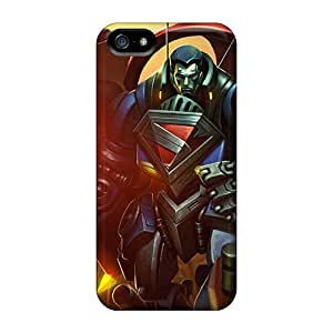 New Arrival Cases Covers With Jxz27911AFwT Design For Iphone 5/5s- Mecha Superman Infinite Crisis