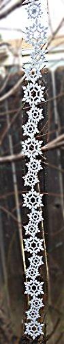Felt Snowflake Garland Sticker 24