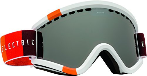 Electric Visual EGV Orange Blast White Bronze Silver Chrome Snow Goggle