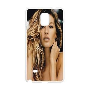 LSQDIY(R) Gisele Bundchen Samsung Galaxy Note 4 Plastic Case, Personalised Samsung Galaxy Note 4 Case Gisele Bundchen