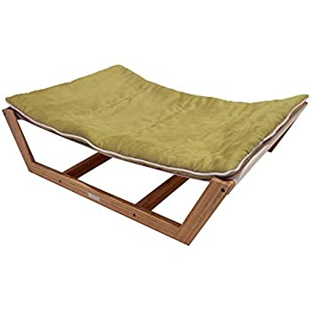 "Amazon.com : Bambu Dog Hammock II, Kiwi Green (Large 46""L"