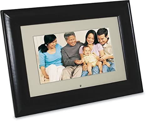 Pandigital Pan8004w01c 8 Inch Lcd Digital Picture Frame Black 2gb