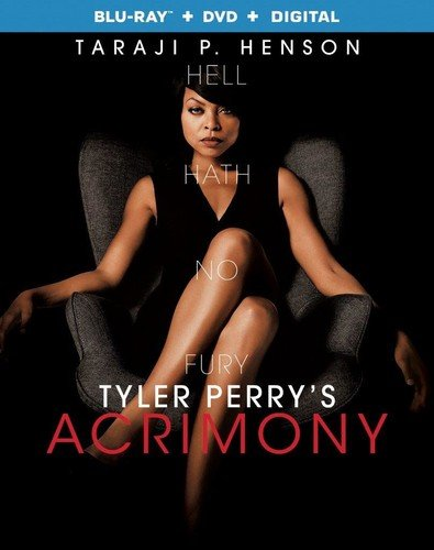 Blu-ray : Acrimony (With DVD, Ultraviolet Digital Copy, 2 Pack, Eco Amaray Case, 2PC)