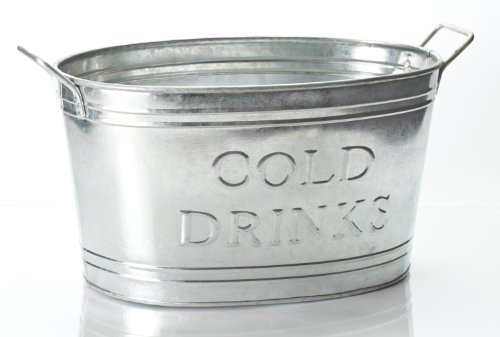 KINDWER Galvinized Cold Drinks Silver