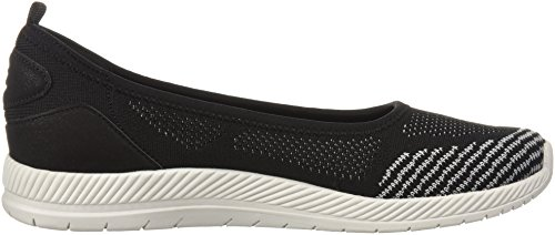 Geinee Flat Grey US Medium Ballet Black WoMen Easy Spirit zpnqagwBqC