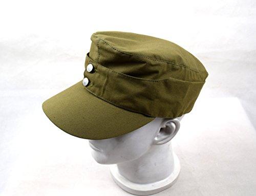 Chengxiang Replica WWII German Afrika Korps Field Cap Hat 57 58 59 60CM  (60cm)