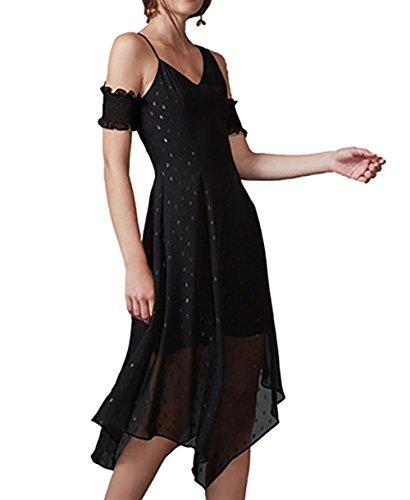 Keepsake Last Chance Midi Dress In Black (Large)