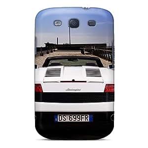 S3 Scratch-proof Protection Case Cover For Galaxy/ Hot Lamborghini Gallardo Lamborghini Phone Case