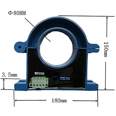 Loulensy AC Voltage Transducer Voltage Sensor Transmitter Transformer Input 0-250V AC Output 4-20mA DC