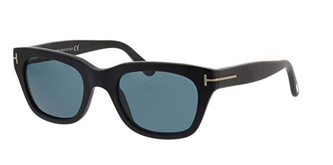 Gafas de Sol Tom Ford Snowdon FT 0237 Black/Blue Unisex ...