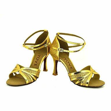 XIAMUO Anpassbare Frauen Beruf Tanz Schuhe, Schwarz, US 9.5-10/EU 41/ UK 7,5-8/CN 42