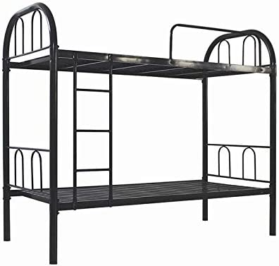 Iron Metal Bunk Bed Black 190 L X 90 W X 83 H Cm Buy Online At Best Price In Uae Amazon Ae