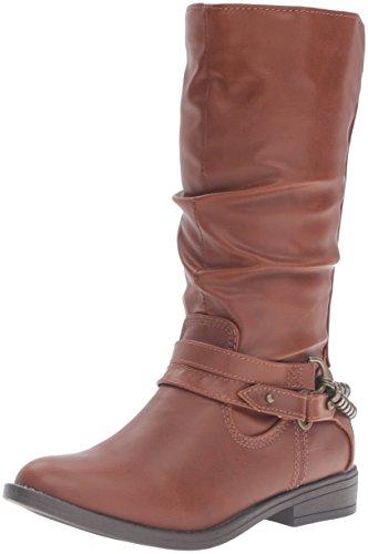 [Rampage Girls' Karen Bootie, Cognac, 11 M US Little Kid] (Brown Boots For Kids)