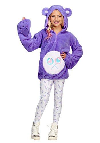 Care Bears Deluxe Tween Share Bear Hoodie Costume -