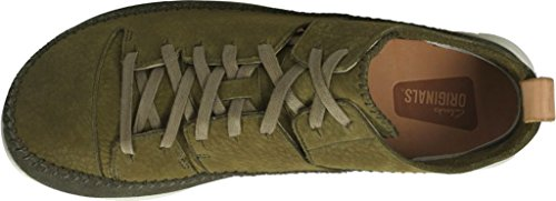 CLARKS Men's Suede Trigenic Flex Sneakers Green for sale finishline outlet wholesale price PgiiN3cZQI