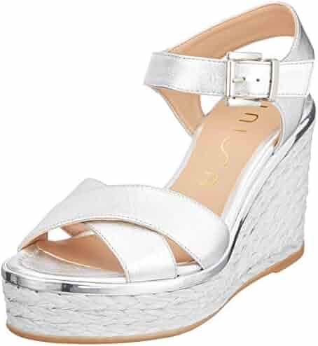 4.69.04 Grey Softwaves Women Flat Slipper Silver, Grau