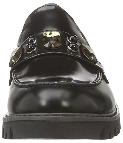 Tamaris Women's 24614 Loafers Black (Black 001black 001) vPHwHtzG