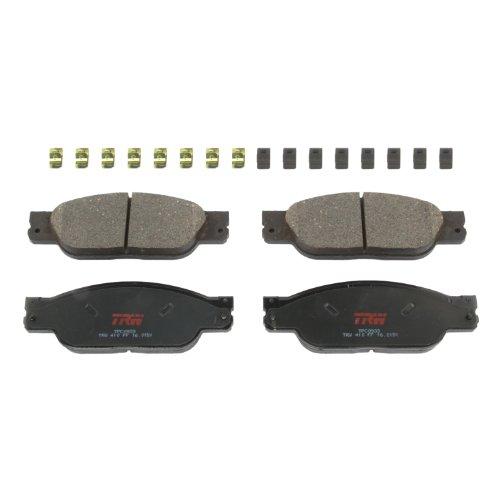 Trw Type (TRW TPC0933 Premium Ceramic Front Disc Brake Pad Set)