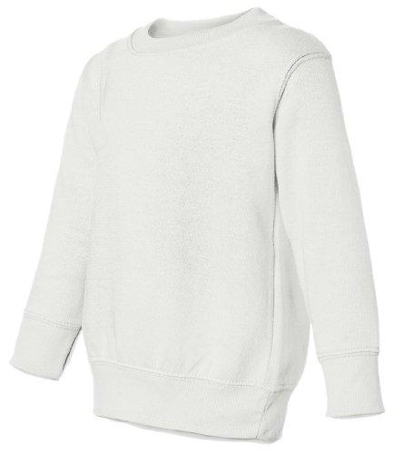 Rabbit Skins Ladies V-Neck Johnny Collar, 4T, (Rabbit Kids Sweatshirt)