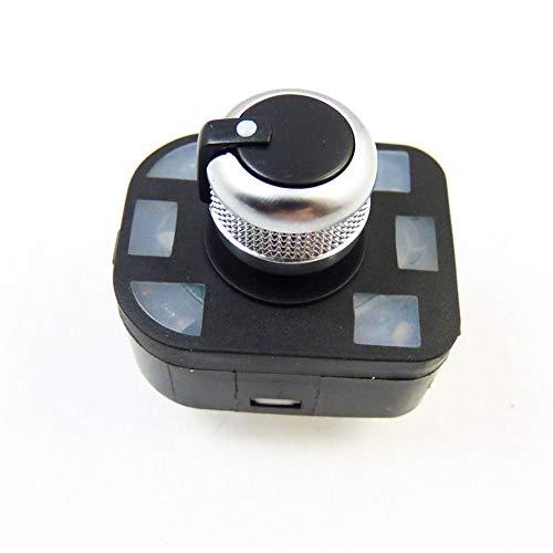 Amzparts - Interruptor de espejo chapado en cromo para Audi 2001-2012, A4, S4, A6, S6, R8, Q7, TT4FD, 959, 565, A,...