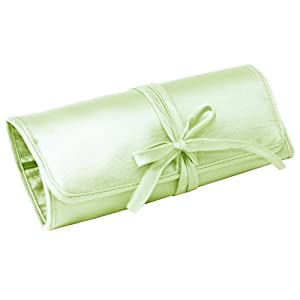 Ivy Lane Design Gift, Jewelry Roll, Green