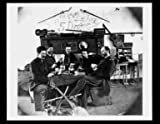 Photo Soldiers Drinking & Playing Poker c1864
