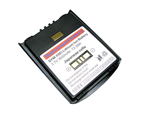 Motorola MC55 / MC55A / MC65 Extended Battery (New-In-Box) - Superior Quality Japanese Cells 3600mAh - OEM p/n: BTRY-MC55EAB02, BTRY-MC65EAB02, 82-111094-01