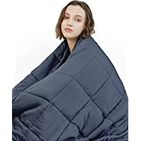 YnM Weighted Blanket (15 lbs, 48''x72'', Twin Size) | 2.0...