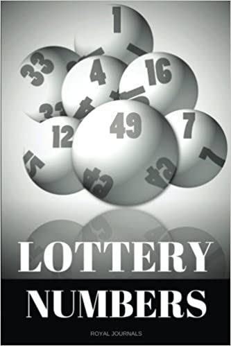 Lottery Numbers: Journal notebook, 6 x 9 inches, Lined pages