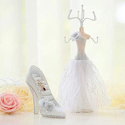 JWLW Regalo de cumpleaños accesorios de joyería niñas novias ...