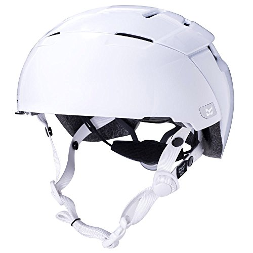 Kali Protectives City Helmet w/ Shield Large/X-Large Solid White