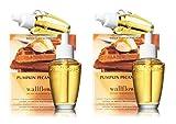 Bath and Body Works Pumpkin Pecan Waffles Wallflowers - 2 boxes, 4 bulbs