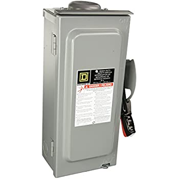 SCHNEIDER ELECTRIC Switch Not Fusible Hd 600-Volt 30-Amp 3-Point ...