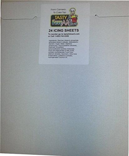 Frosting Sheets, Icing Sheets, Sugar Sheets 8-1/2 X 10-1/2 Printable Area